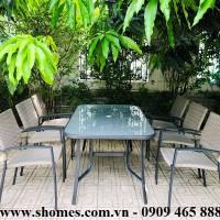 Bàn chữ nhật khung nhôm màu xám, Bàn ghế nhôm giá rẻ, bàn ghế nhôm thành phố Hồ Chí Minh, mẫu bàn ghế nhôm đẹp, thanh lí bàn ghế nhôm, báo giá bàn ghế nhôm, Bàn ghế nhôm ngoài trời, Phân phối bàn ghế nhôm tại thành phố Hồ Chí Minh, Công ty bán bàn ghế nhôm tại thành phố Hồ Chí Minh, bàn ghế nhôm xếp gọn tiện lợi, thanh lí bàn ghế nhôm inox giá rẻ, mua bàn ghế nhôm tại tphcm,