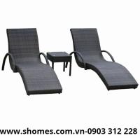 bàn ghế mây thư giãn giá rẻ