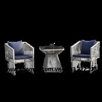 bàn ghế nhựa mây sân vườn đẹp