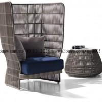 bàn ghế sofa mây bằng nhựa
