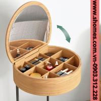 bàn trang điểm gỗ mini cao cấp
