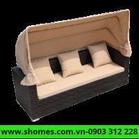 cung cấp bàn ghế sofa mây nhựa giá tận gốc
