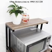 cung cấp kệ bếp gỗ tại tp hcm