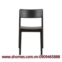 ghế đơn bằng gỗ sồi