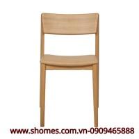 ghế đơn bằng gỗ sồi cao cấp