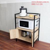 kệ bếp gỗ nhiều ngăn