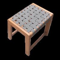 Mẫu ghế ngồi gỗ có thiết kế đơn giản