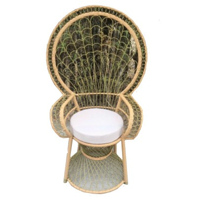 Ghế nữ hoàng khung sắt 1
