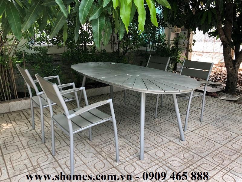 Bàn oval nhôm, Bàn ghế nhôm giá rẻ, mẫu bàn ghế nhôm đẹp, thanh lí bàn ghế nhôm, báo giá bàn ghế nhôm, Bàn ghế nhôm ngoài trời, Phân phối bàn ghế nhôm tại thành phố Hồ Chí Minh, Công ty bán bàn ghế nhôm tại thành phố Hồ Chí Minh, bàn ghế nhôm xếp gọn tiện lợi, thanh lí bàn ghế nhôm inox giá rẻ, mua bàn ghế nhôm tại tphcm,