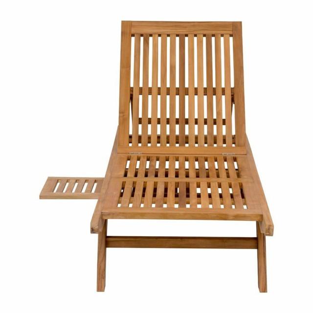 Ghế nằm gỗ ngoài trời