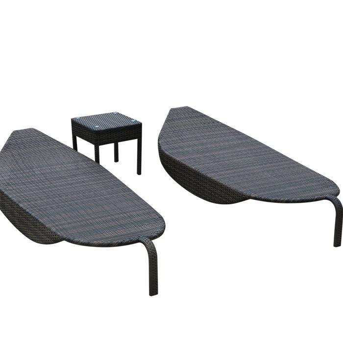 Bộ bàn ghế ngoài trời 01