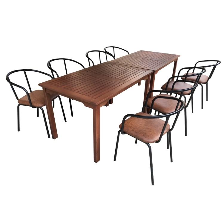 Bộ bàn ghế ngoài trời 03