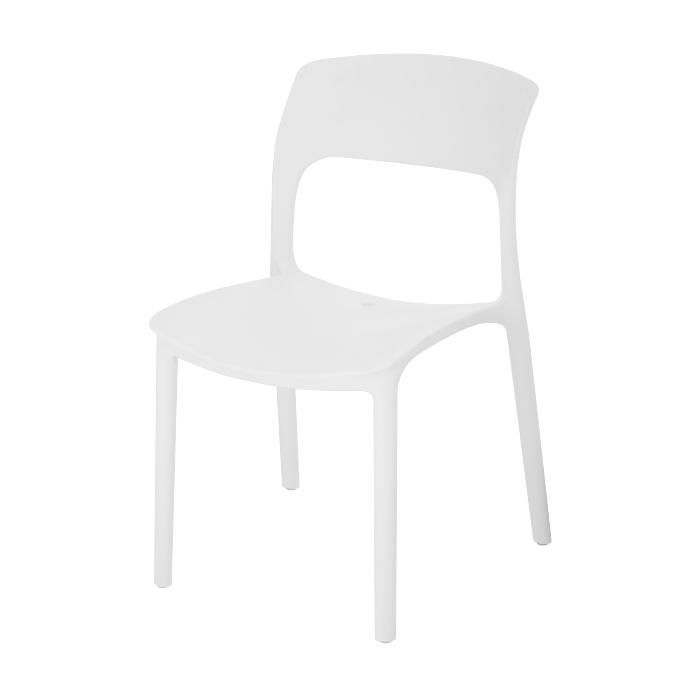 Bộ bàn ghế cafe màu trắng