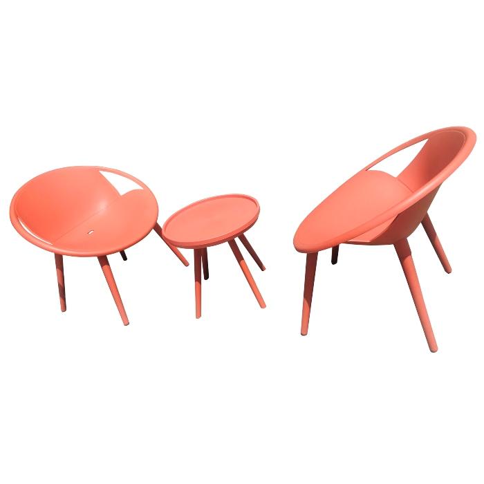 Bộ bàn ghế nhựa 3 món cao cấp