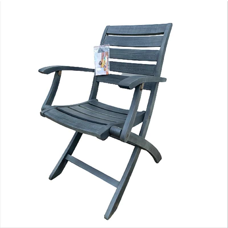 Ghế gỗ xếp có tay 1