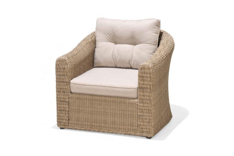 Ghế sofa nhựa giả mây 01